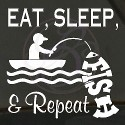 CD - Eat, Sleep, Fish & Repeat