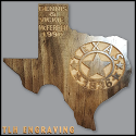Personalized Texas 1836 Plaque