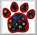 Applique Paw