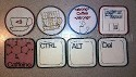 ITH Geek Coaster Set