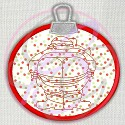 ITH - Santa Moon Ornament