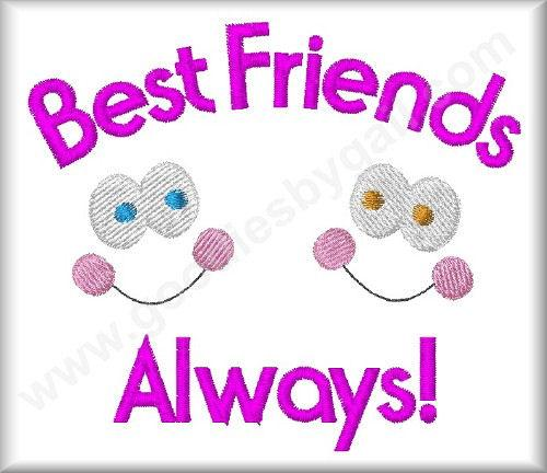 Best Friends Always - Click Image to Close