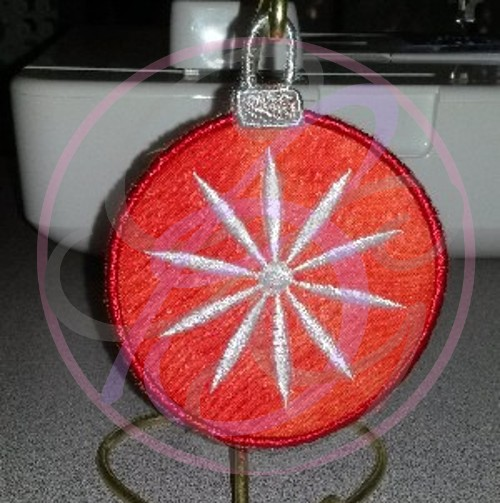 ITH - Daisy Ornament - Click Image to Close