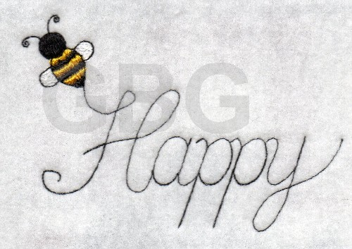 Bee Happy - Click Image to Close
