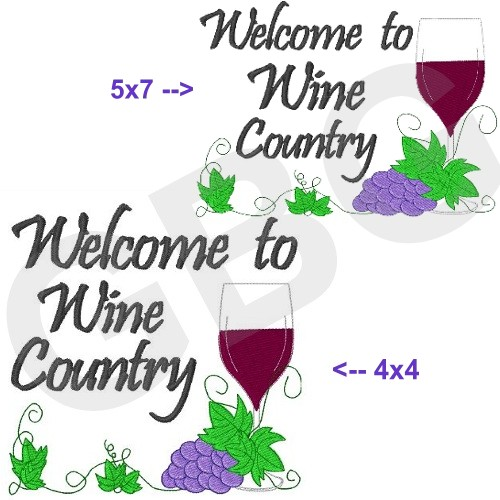 Welcome to Wine Country - Click Image to Close