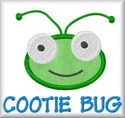 Applique cootie bug