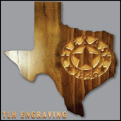 Non-Personalized Texas 1836 Plaque