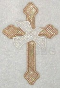 MYLAR Dove Cross