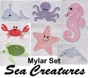 MYLAR SET- Sea Creatures