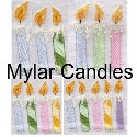 MYLAR SET- Candles