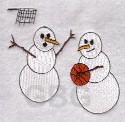 Basketball Snowmen