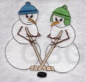 Hockey Snowmen