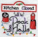 Kitchen Closed (off to Deck the Halls)