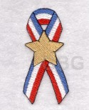 Patriotic Ribbon A
