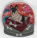 VINYL - German Shepherd Snow Globe